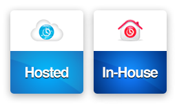 Hosted or In-House options