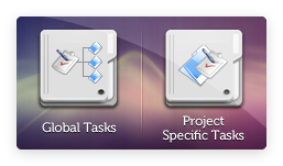 Global & Project-specific Tasks